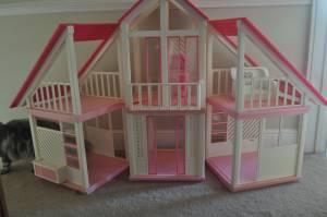 1978 Vintage Barbie Dream House A Frame House In Pink