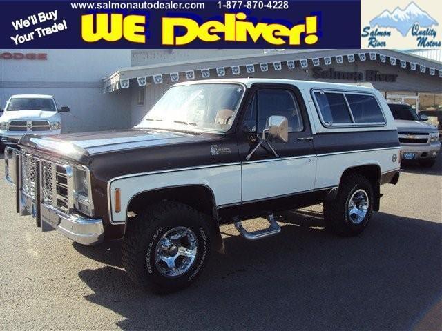 1979 Chevrolet Blazer For Sale In Salmon Idaho Classified