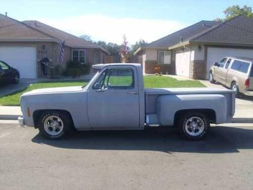 1979 chevrolet stepside c10 classic truck in cottonwood ca for sale in cottonwood california. Black Bedroom Furniture Sets. Home Design Ideas