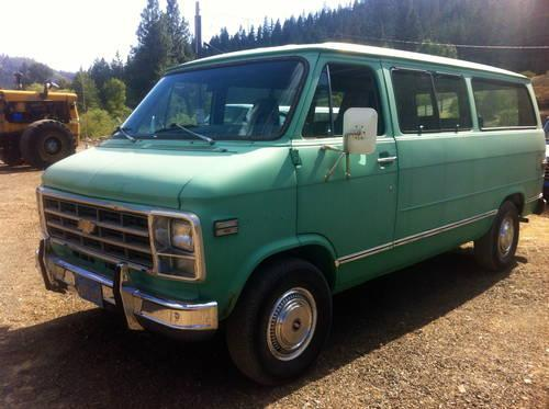 1979 chevy g10 van brand new 350 engine for sale in fort jones california classified. Black Bedroom Furniture Sets. Home Design Ideas