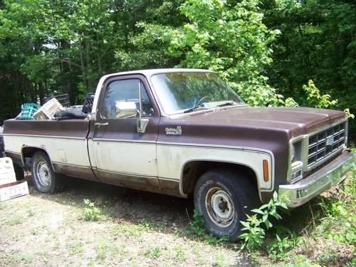 1979 chevy pick up truck for sale in fredericksburg virginia classified. Black Bedroom Furniture Sets. Home Design Ideas