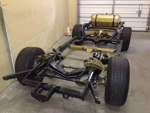 1979 corvette rolling chassis rebuilt ready to use for. Black Bedroom Furniture Sets. Home Design Ideas