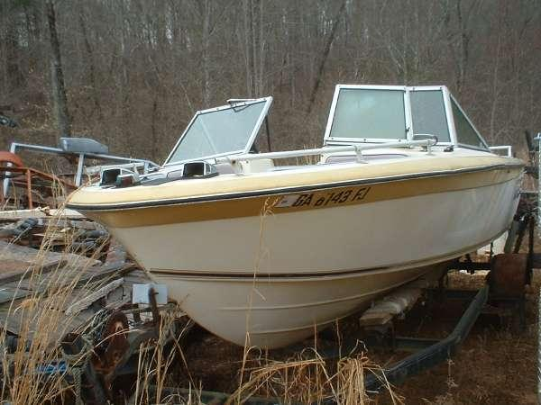 1979 dixie 185 bowrider mercruiser 165 for sale in for Bowrider boats with outboard motors