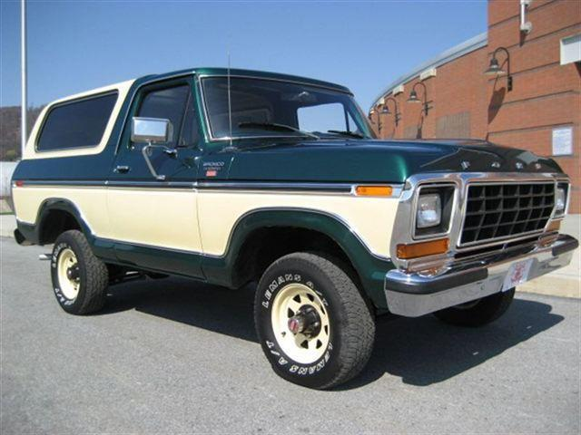 1979 ford bronco for sale in johnstown pennsylvania classified. Black Bedroom Furniture Sets. Home Design Ideas