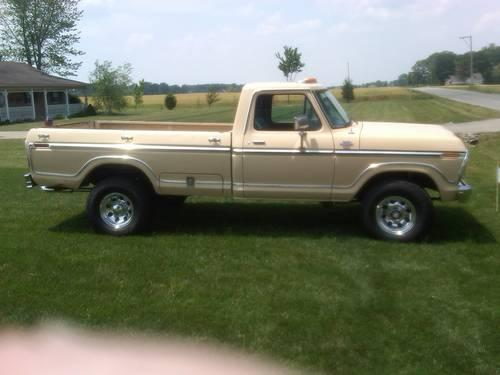 1979 ford f250 4x4 4spd western truck for sale in nevada indiana classified. Black Bedroom Furniture Sets. Home Design Ideas