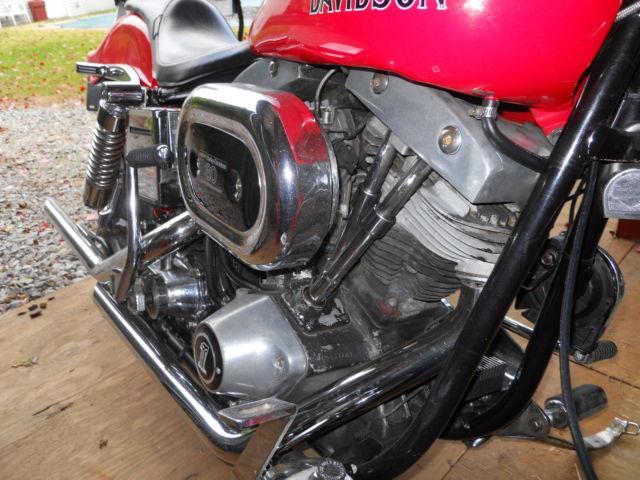 1979 Harley Davidson FXEF Shovel Head Numbers Matching