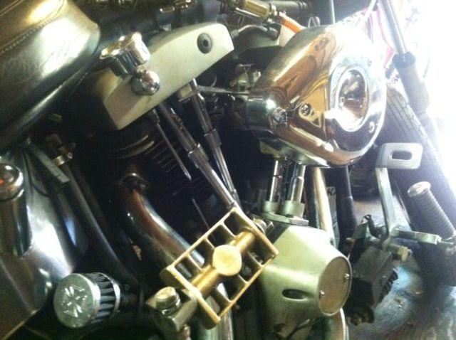 1979 Harley Shovelhead engine and transmission