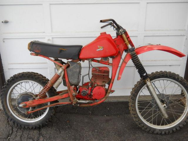 1979 HONDA CR250R ELSINORE MOTORCYCLE