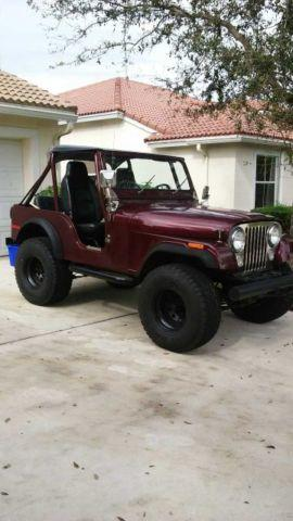 1979 jeep cj 5 for sale in boynton beach florida. Black Bedroom Furniture Sets. Home Design Ideas