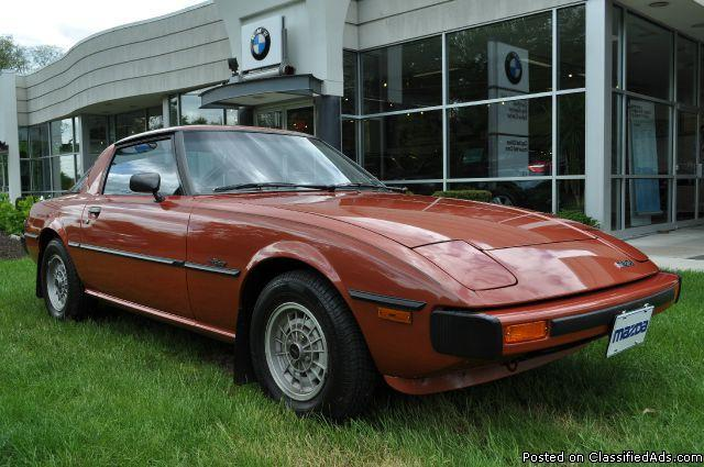 1979 mazda rx 7 gs 1 owner 25k miles for sale in bethlehem center new york classified. Black Bedroom Furniture Sets. Home Design Ideas
