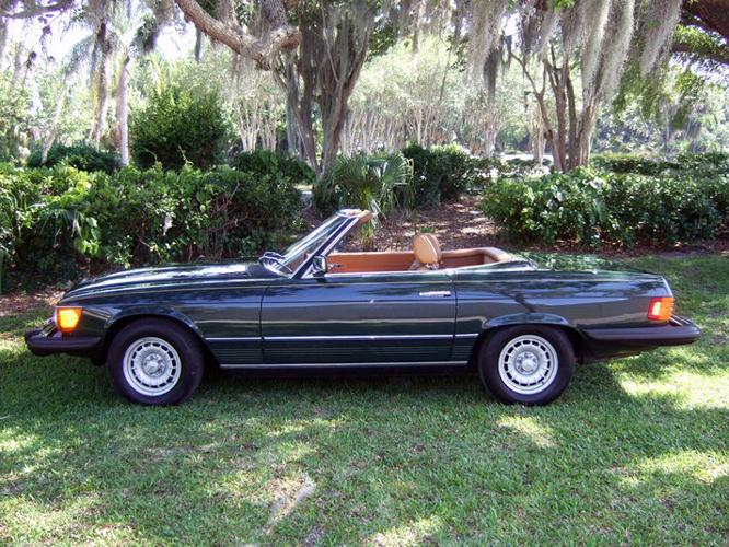 1979 mercedes benz 450sl 15 000 original miles for sale in for 1979 mercedes benz 450sl for sale