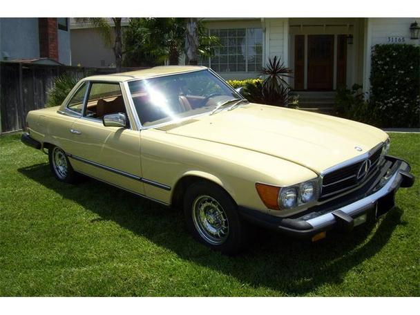 1979 Mercedes Benz 450sl For Sale In Orange California