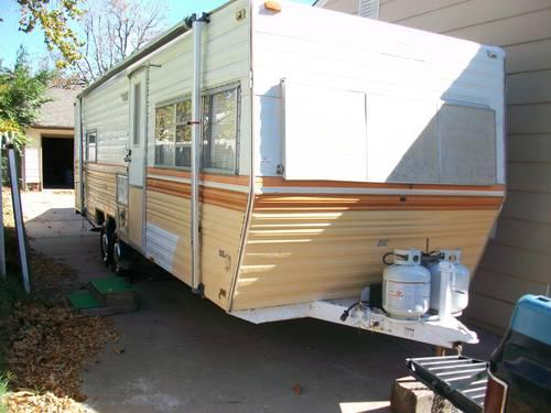 1979 prowler 28ft bumper pull rv trailer