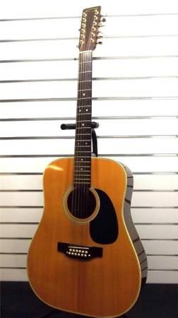 1979 takamine f 400 12 string 39 martin lawsuit 39 era for sale in skellytown texas classified. Black Bedroom Furniture Sets. Home Design Ideas