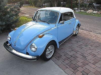 1979 VW Beetle Cabrio Karmann Convertible