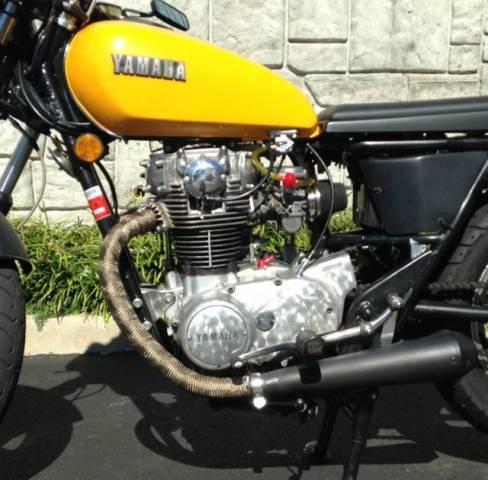 1979 Yamaha XS650 Custom - Cafe Racer - Bobber