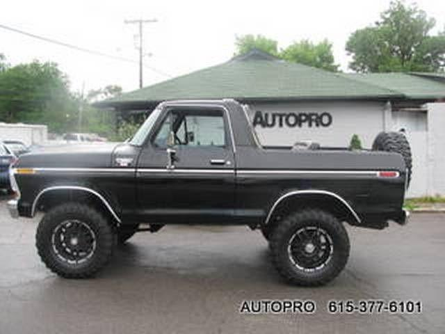 1979 ford bronco for sale in brentwood tennessee classified. Cars Review. Best American Auto & Cars Review
