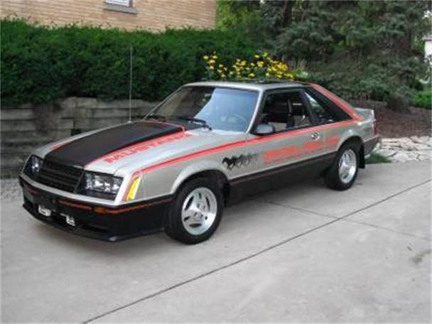 1979 ford mustang indy pace car for sale in volo illinois classified. Black Bedroom Furniture Sets. Home Design Ideas