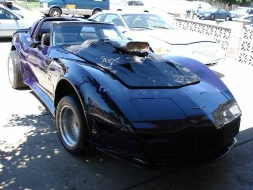 1980 chevrolet corvette stingray high performance in san jose ca for sale in etowah north. Black Bedroom Furniture Sets. Home Design Ideas