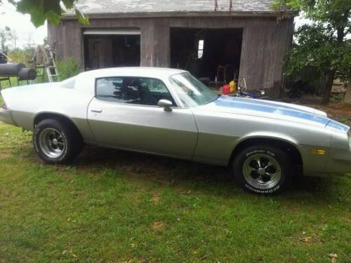 1980 Chevy Camaro For Sale In Croswell Michigan
