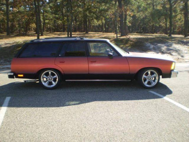 1980 Chevy Malibu Wagon Sharp Car!