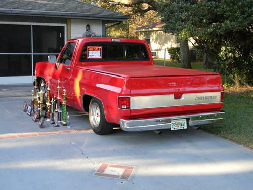 1980 chevy silverado show truck for sale in brooksville florida classified. Black Bedroom Furniture Sets. Home Design Ideas
