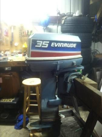 1980 Evinrude 35 Hp For Sale In Lowell Ohio Classified