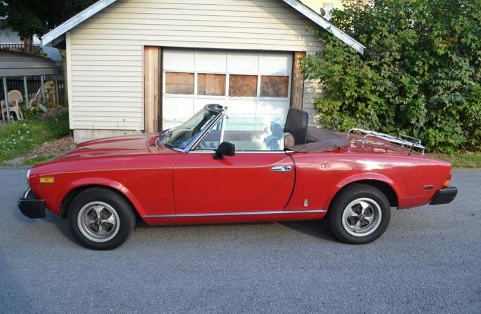 1980 Fiat Spider 2000 for sale by owner