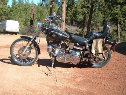 1980 Harley-Davidson Black&Gold FXWG Wideglide Shovelhead