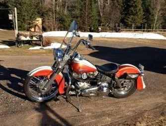 1980 Harley Davidson FLH Shovel Head in Park Falls, WI