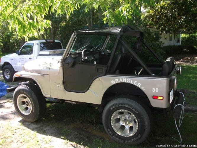 1980 jeep cj 5 for sale in hahira georgia classified. Black Bedroom Furniture Sets. Home Design Ideas
