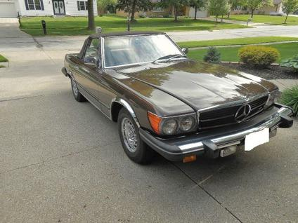 1980 mercedes benz 400 series 450sl for sale in charlotte for Mercedes benz charlotte north carolina