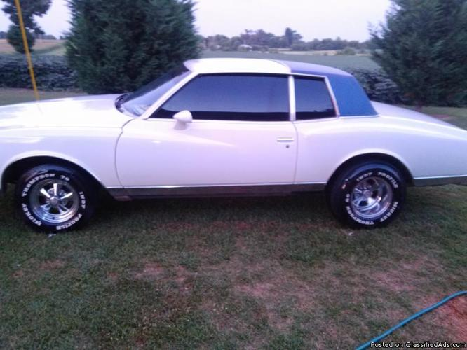 1980 monte carlo for sale in hickman kentucky classified. Black Bedroom Furniture Sets. Home Design Ideas