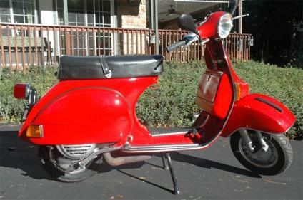 1980 Restored Vespa P200e Motor Scooter For Sale In Foresthill California Classified Americanlisted Com