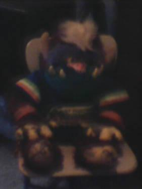 1980's My Pet Monster Stuffed Animal