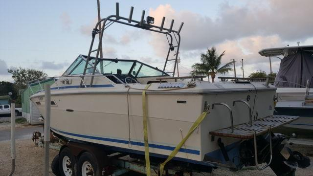 1980 Searay Weekender 24 ft with Trailer