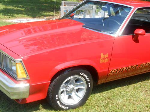 1980 Ss Royal Knight El Camino For Sale In Knoxville