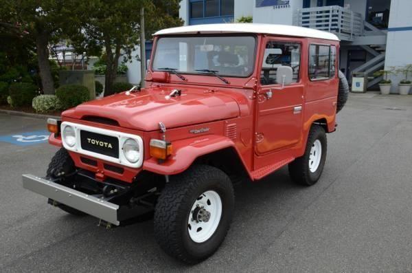 1980 Toyota Land Cruiser FJ40 for Sale in Edmonds