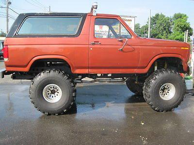 1980 ford bronco 9 lift 42 swampers auto original 46k miles for sale in new haven connecticut. Black Bedroom Furniture Sets. Home Design Ideas
