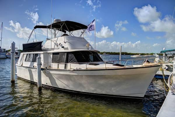 1981 40 Foot Mainship Pilothouse Trawler For Sale In
