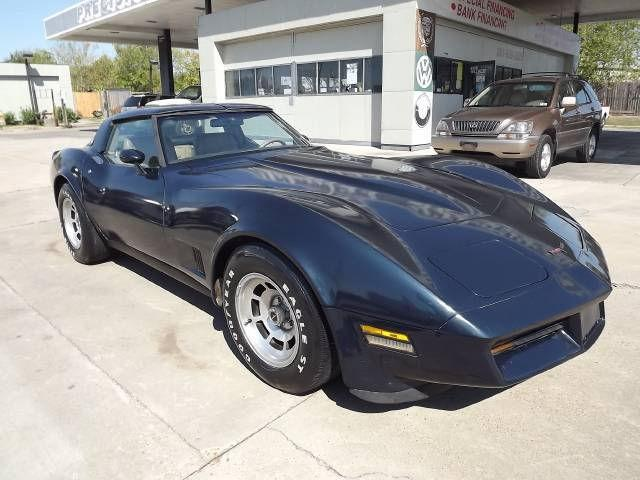 1981 chevrolet corvette coupe for sale in houston texas classified. Black Bedroom Furniture Sets. Home Design Ideas