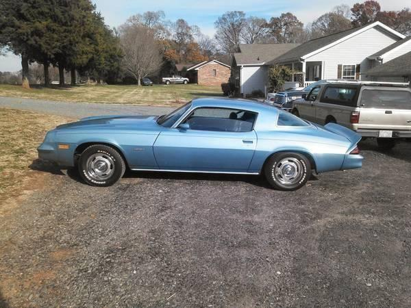 1981 Chevy Camaro For Sale Nc For Sale In Dosier