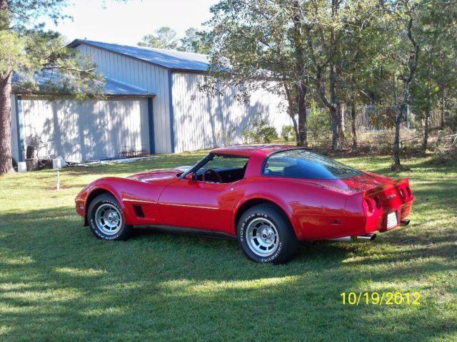 1981 CHEVY CORVETTE, 383CI ENGINE