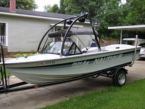 1981 correct craft barefoot nautique for sale in bessemer for Correct craft trailer parts