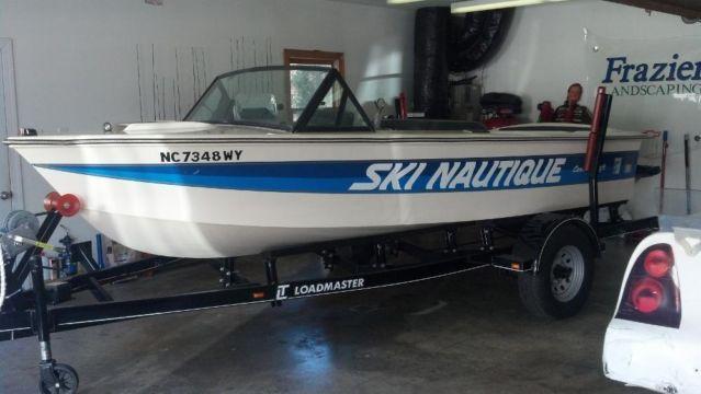 1981 correct craft ski nautique 20th anniversary edition for Correct craft trailer parts