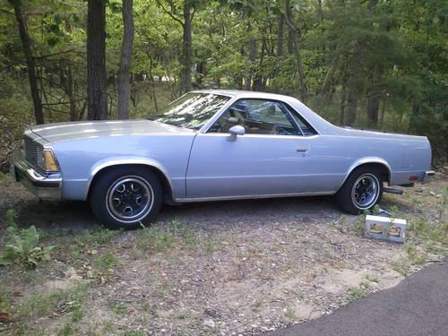1981 el camino for sale in evesham new jersey classified. Black Bedroom Furniture Sets. Home Design Ideas