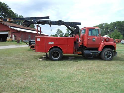 Don Bohn Ford >> 1981 FORD F-8000 - Boom Truck - Cummins Turbo Diesel for ...