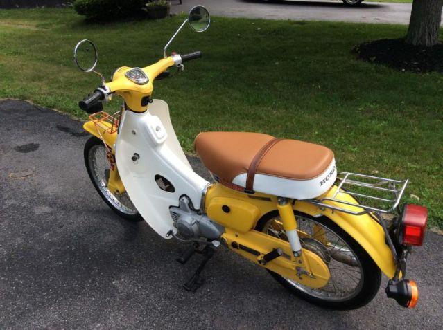 1981 honda passport c70 scooter for sale in syracuse new york classified. Black Bedroom Furniture Sets. Home Design Ideas