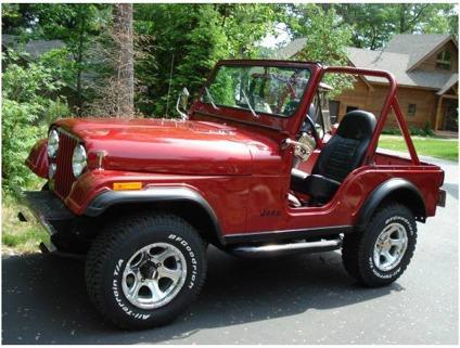 1981 jeep cj5 for sale in los angeles california classified. Black Bedroom Furniture Sets. Home Design Ideas