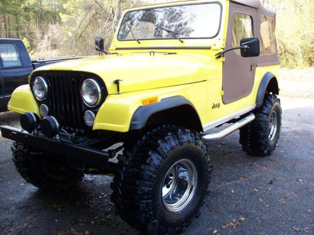 1981 jeep cj7 for sale in hephzibah georgia classified. Black Bedroom Furniture Sets. Home Design Ideas